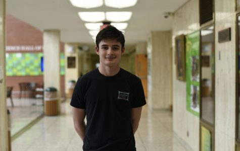 Tate McLean '19, an avid 'Game of Thrones' viewer.