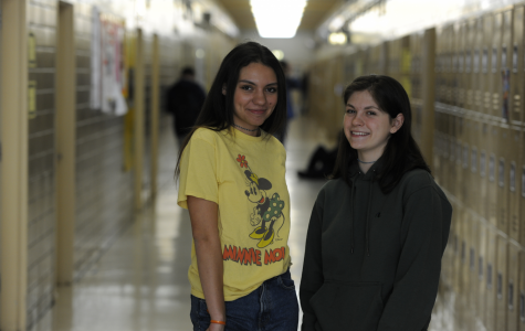 Both Evaluna Smithgartner, '19 (left) and Elisa Pappagallo, '19 (right) think the last season of Thrones will be its best yet.