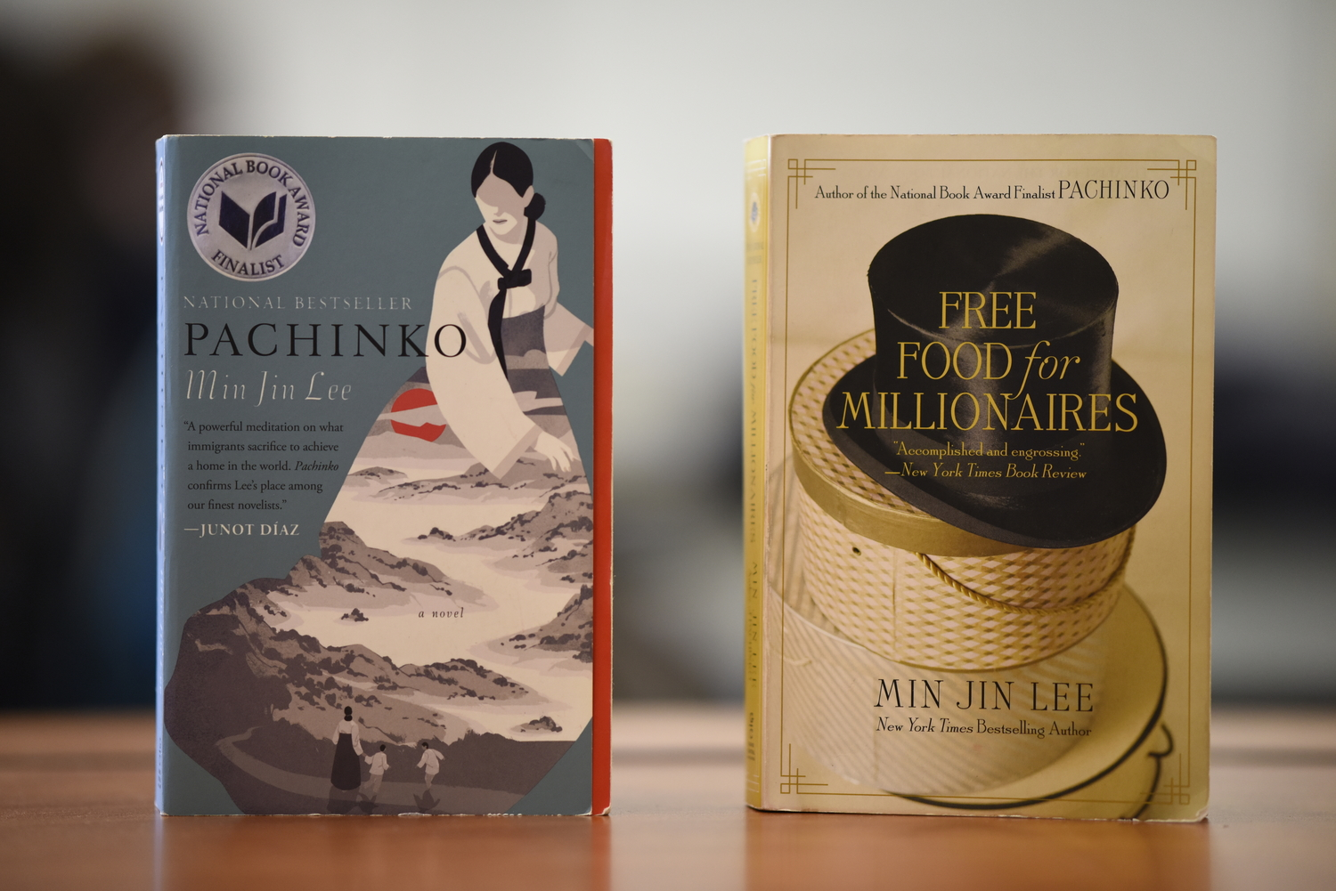 'Free Food For Millionaires'  and 'Pachinko'