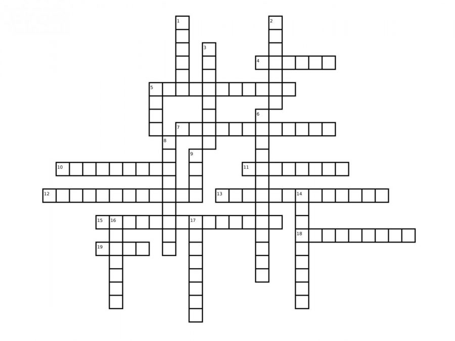 Superhero Crossword