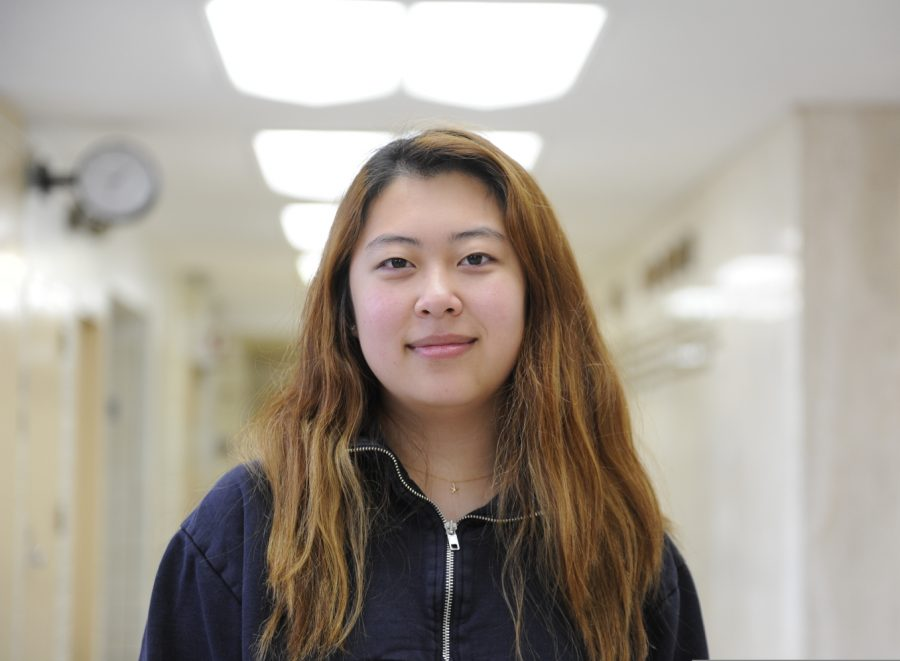 """Jamie Lee '20 talks about watching 'The Farewell' in September 2019. """"This film is definitely different from other movies that I've seen, even other films that did have prominent Asian actors,"""" said Lee."""