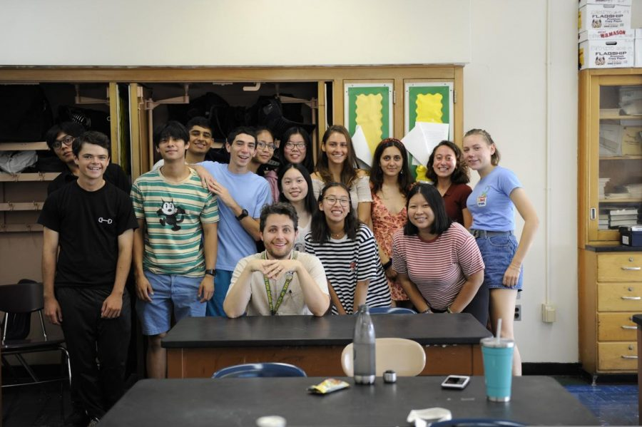 The 2019-2020 Senior Council members, pictured from left to right:  Tyler Pelayo '20, Michael Clerkin '20, Marc Lim '20, Rishi Amladi '20,  Shmuel Padwa '20, Deandra Cornelio '21, Rachel Lu '21, Cindy Cai '20, Cassandra Ng '20, Darya Lollos '20, Daniela Castro '20, Cynthia Chu '20, Sofia Mahairas '20, Ula Pranevicius '20, Mr. McNickle.   Missing: Cameron Leo '20 and Suzune Montag '20.