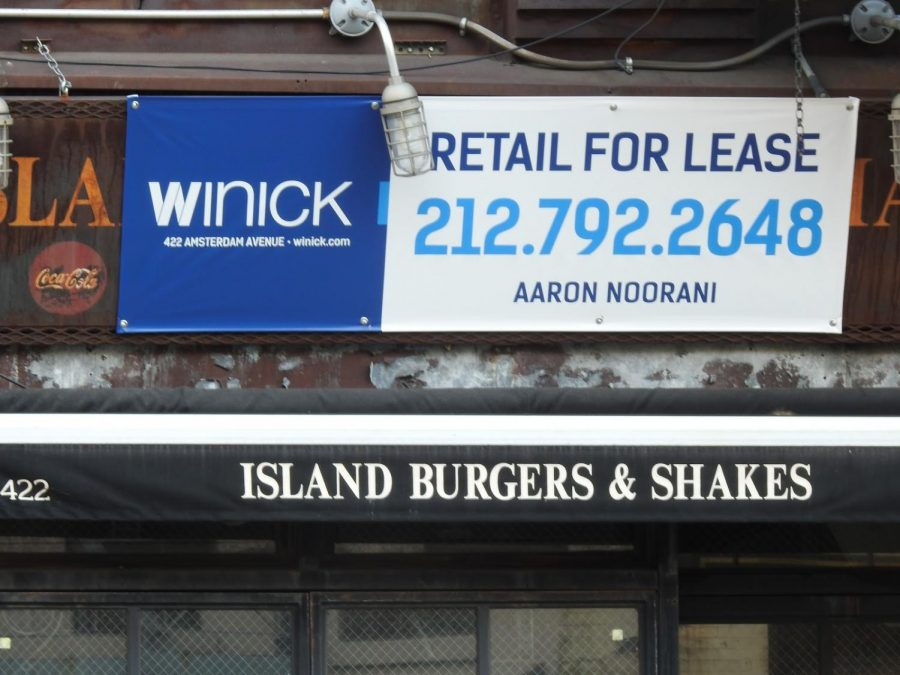 This vacant building was once a restaurant called Island Burgers and Shakes, however it closed earlier this year due to financial difficulties.