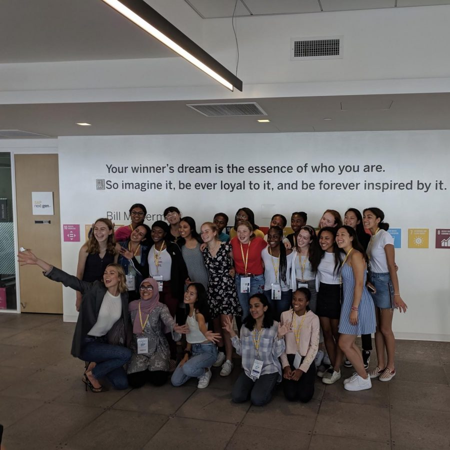 "'Your winner's dream is the essence of who you are.  So imagine it, be ever loyal to it, and be forever inspired by it.""  Bill McDermott's quote above us encaptures the drive all of the women in my group during their time in Kode with Klossy."