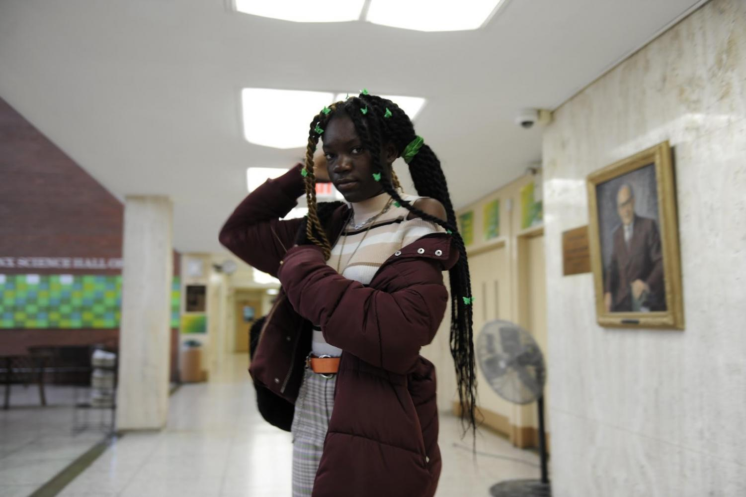 Bronx Science Model Bringing A Fashion Show to School Grounds