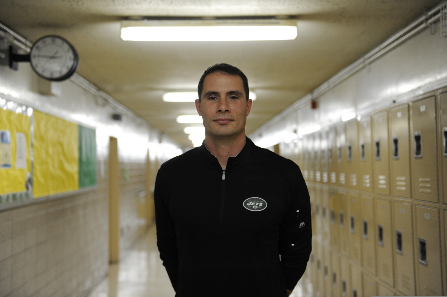Mr. Dahlem, a health teacher at Bronx Science, is an advocate for universal healthcare.