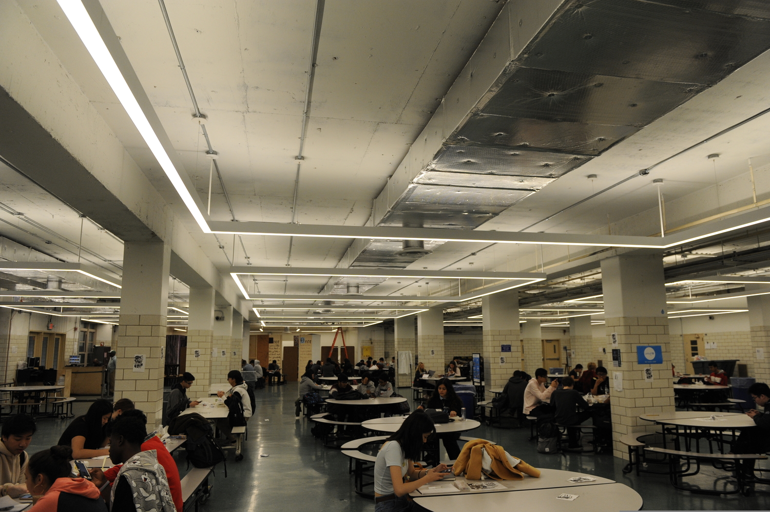 The New Bronx Science Cafeteria