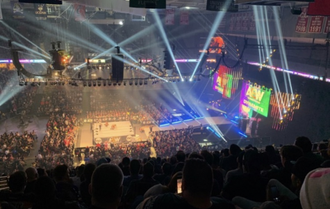 The opening match at a sold-out AEW Dynamite show.