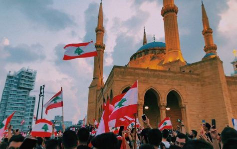 """""""Our government's failure to manage the country's issues with infrastructure and the economy have pushed people of all ages to protest. The streets are flooded with students from all over Lebanon,"""" said Lebanese student Celeste Abourjeli '20."""