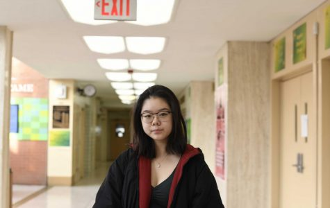 """Nina Wang '20 strongly believes the Venice floods to be an indicator of climate change. """"The high levels of water that the city hasn't seen in decades-- it's not just a coincidence that rising temperatures are happening at the same time,"""