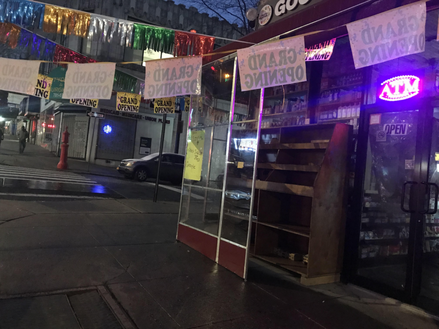 A new bodega opening on 181st and Bennett avenue.