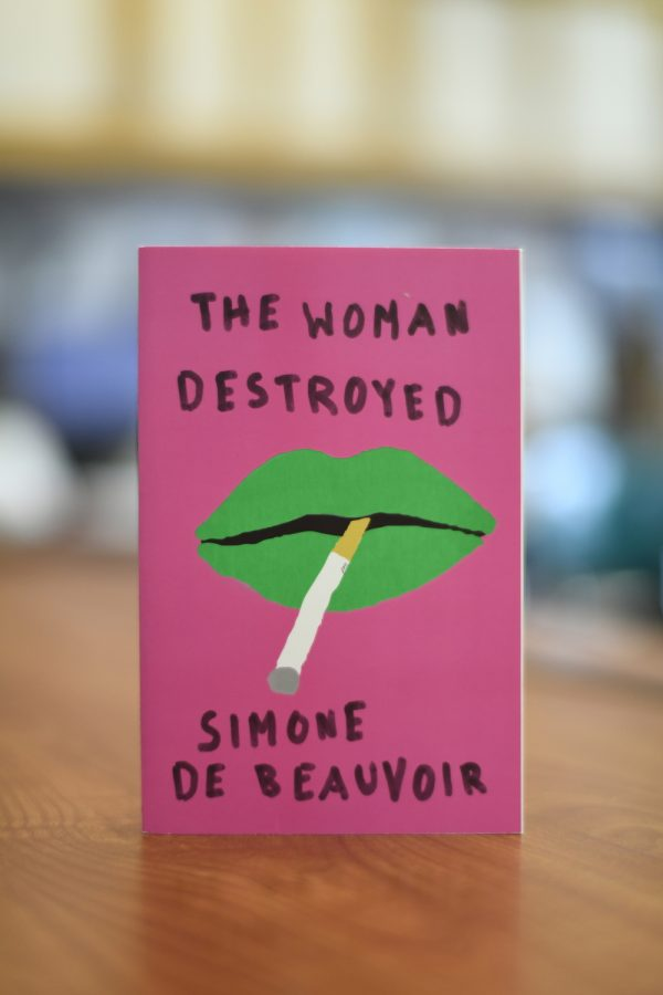 The cover of the Pantheon paperback editing 'The Woman Destroyed' is striking. As a review noted in 'The Atlantic,' the book is