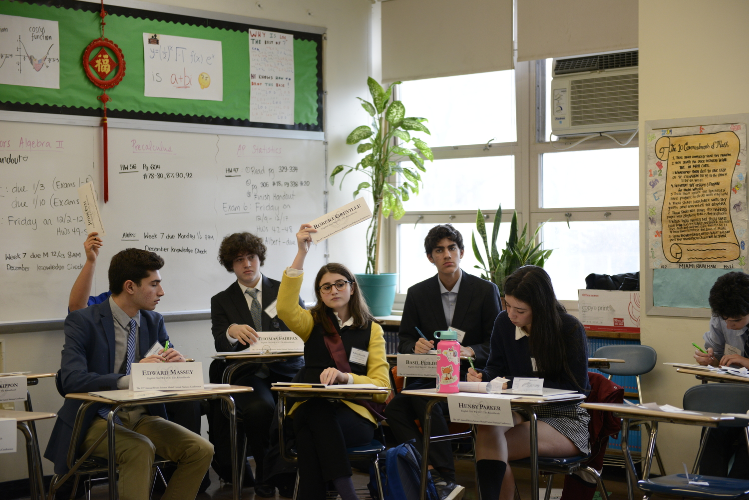 SciMUNC, the 13th Annual Bronx Science Model United Nations Conference