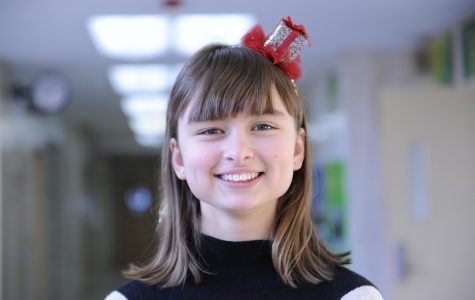 Emilia Pelegano-Titmus '22 likes to write down her resolutions in a bullet calendar that she keeps on her wall to motivate her to stay on track with her resolutions.