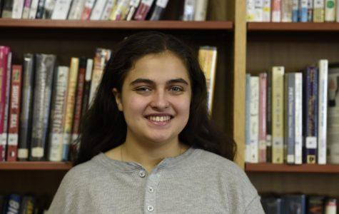 Gidget Rosen '20 looks forward to the senior activities of the second semester.