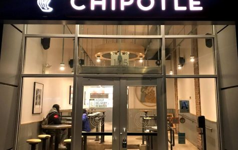 Pictured is a Chipotle in Downtown Manhattan.