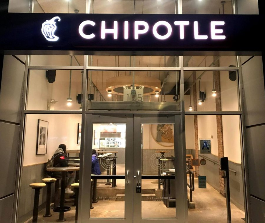 Pictured+is+a+Chipotle+in+Downtown+Manhattan.+