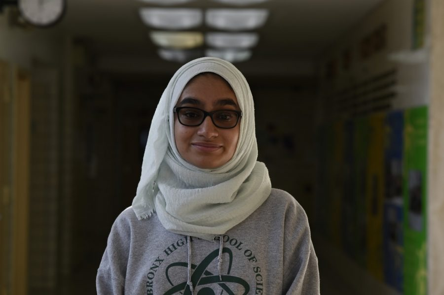 """""""Some of my goals for next year include managing this camp again but with the idea of doing it bigger and better such as the idea of extending it another day and reaching out and impacting more people in other villages."""" Ayesha Khan '20 said."""