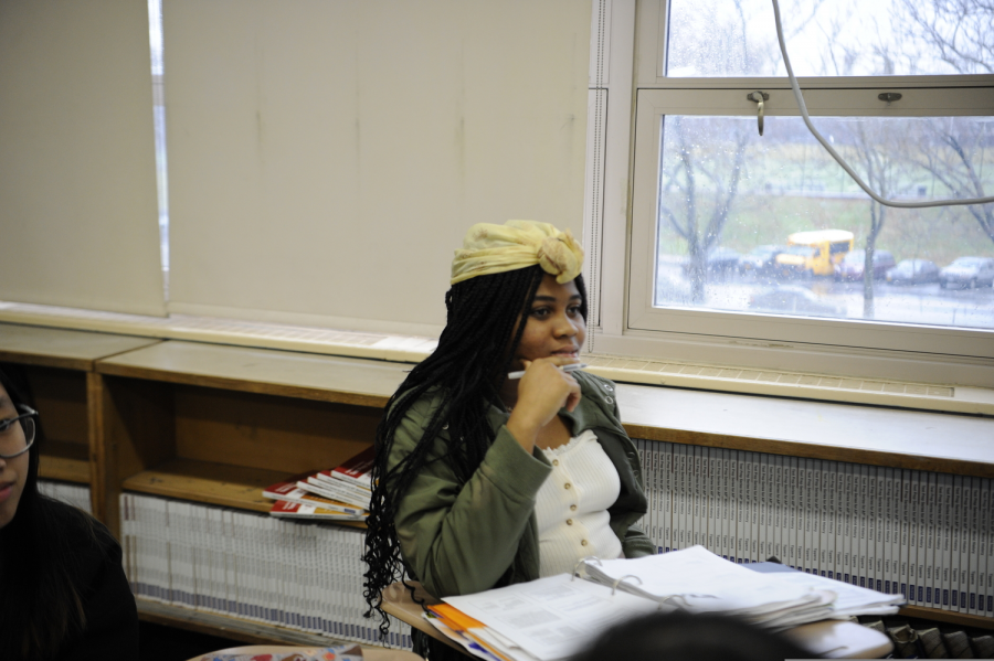 """Uchechukwu Uwanaka '22 believes that, """" there isn't...a unity among black people in the school. It would be better if we had something that showcased black culture."""""""