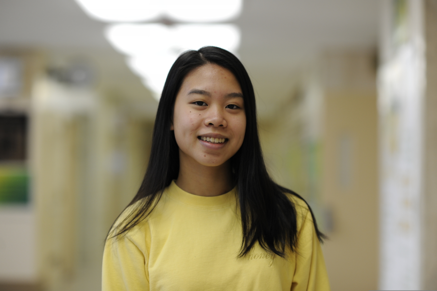 Janice Liu '20 acknowledges the alleviation that financial aid systems have granted her, but also strongly contemplates the disparity between her outlook on the college application process and the outlook of peers who may not have such support.