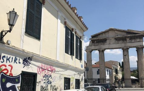 """Despite Greece's rocky past, many people now hold hope for the future of the country. """"As a nation familiar with social and economic turbulence, it is exciting to see how the new President will influence the current political climate,"""" said Elena Morgan '20."""
