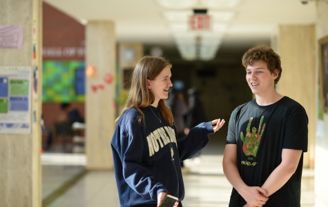 """Leo Elkins '21 and Kate Reynolds '21 agree that 'Cats' was an unforgettable experience. Reynolds claims, """"the movie 'Cats' truly changed my life."""""""