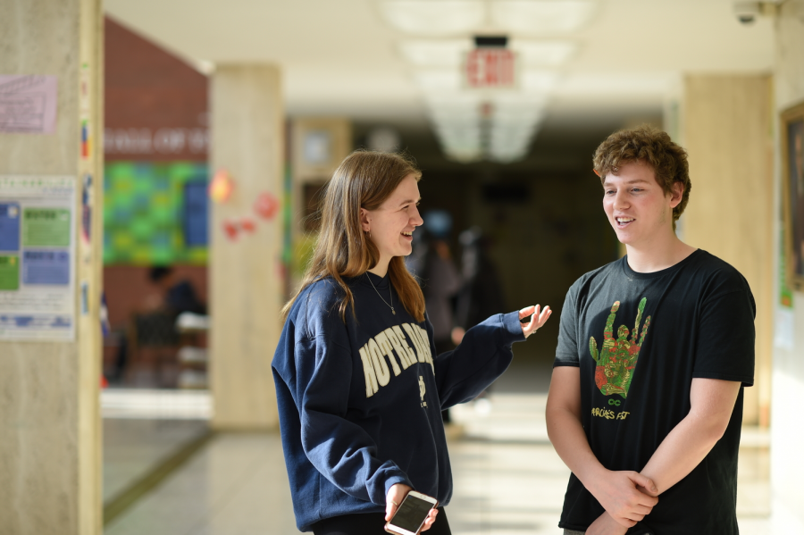 "Leo Elkins '21 and Kate Reynolds '21 agree that 'Cats' was an unforgettable experience. Reynolds claims, ""the movie 'Cats' truly changed my life."""