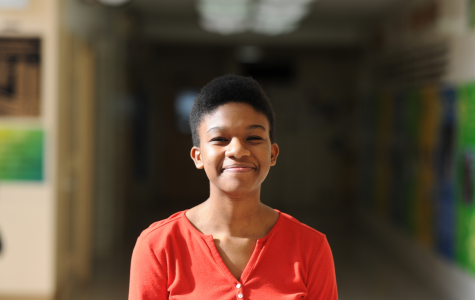 """In the main lobby of Bronx Science stands Melody Moulton '20, current President of the BOSS/WIS Club at Bronx Science. """"I thought the underlying message of the commercial was that black people have had a tremendous influence on people's lives, leading to their accomplishments being among 'the most searched' on Google."""" said Moulton, when asked about what she thought the commercial conveyed."""