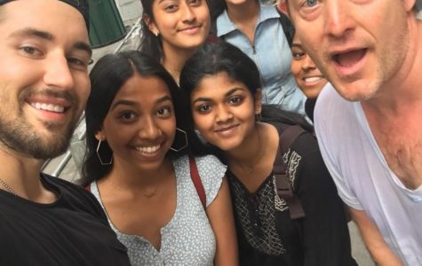 """Radia Basher '21, Suborna Kar '21, Antara Afroz '21, and Nowshin Oishi '22 bumped into Instagrammer Jeff Wittek and daily vlogger Jason Nash during the summer of 2019. While recalling the memory Antara said, """"I've had a lot of great moments in life, but this was by far one of the greatest."""" Wittek and Nash work in the comedy aspect of the entertainment industry; their Youtube videos provide a fifteen minute laughter-filled vacation from society, which can be very attractive to stressed high school students."""