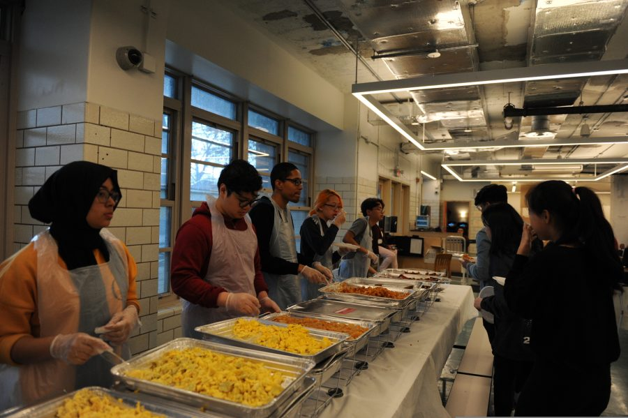 The school hosts brunch for seniors.