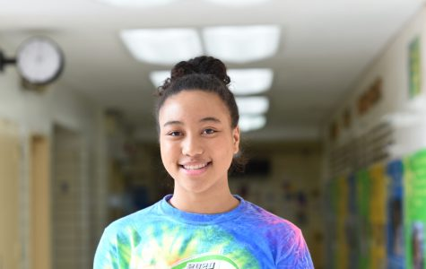 Diana Campbell '22 has a busy schedule, but practices meditation in order to concentrate on feeling present and attentive.