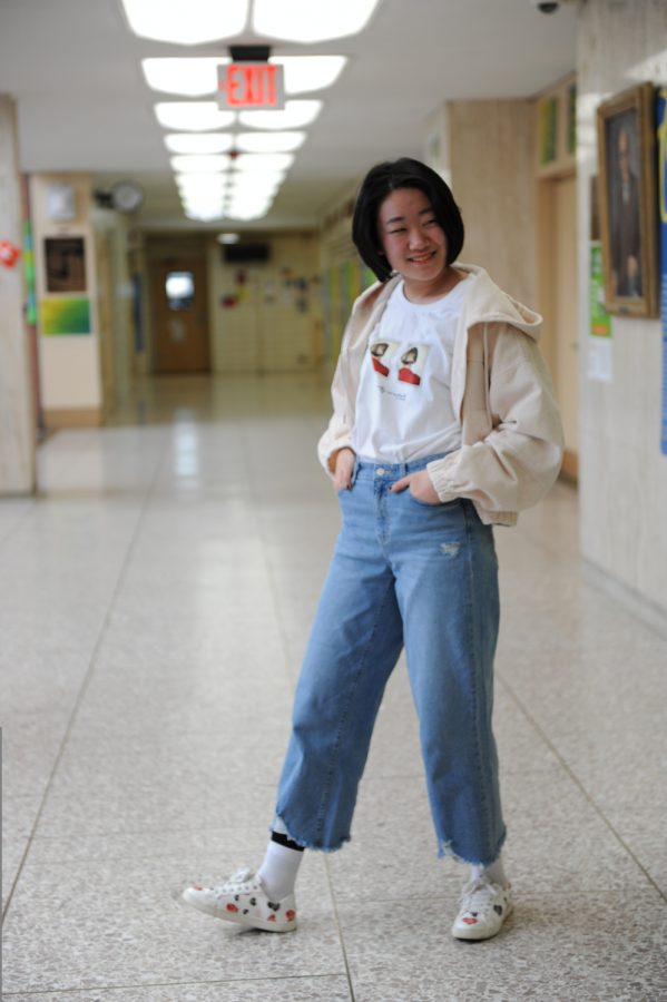 "Christine An ('22) said that her style choice ""is an extension of my personality. My fashion sense helps me meet new people."""