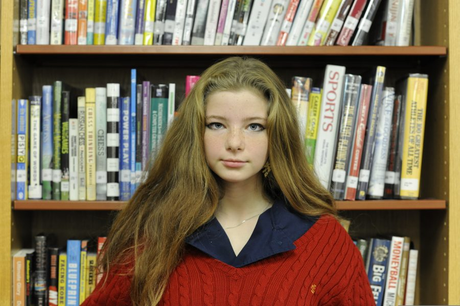 "Dinah Landsman '23 sees importance in what 'Sex Education' does to fill in the gaps that the sex education curriculum in many public schools often creates. ""The show is really good because it brings awareness to everything sex education in schools doesn't,"" said Landsman."