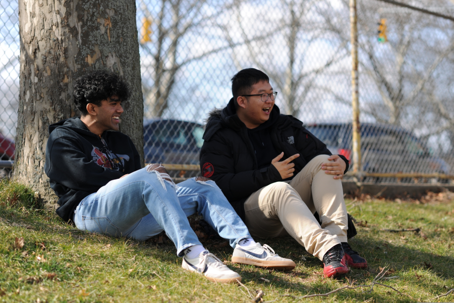 """rapped indoors all day with little to do and see, class of 2020 students are reminiscing the few memories they made during their senior year. """"Going to Bronx science, I was blessed to wake up every morning to a beautiful sunrise. Now in quarantine, I wake up when the sun goes to sleep,"""" said Sabin Alam '20."""