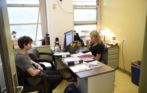 Students spend four years of their high school careers preparing for college, as this Bronx Science student is doing in his meeting with Ms. McHugh, his Guidance counselor, to plan on the colleges to which he will apply.  The thought that many colleges will be online only during the Fall 2020 semester due to COVID-19 is one of the many terrible outcomes of this pandemic.