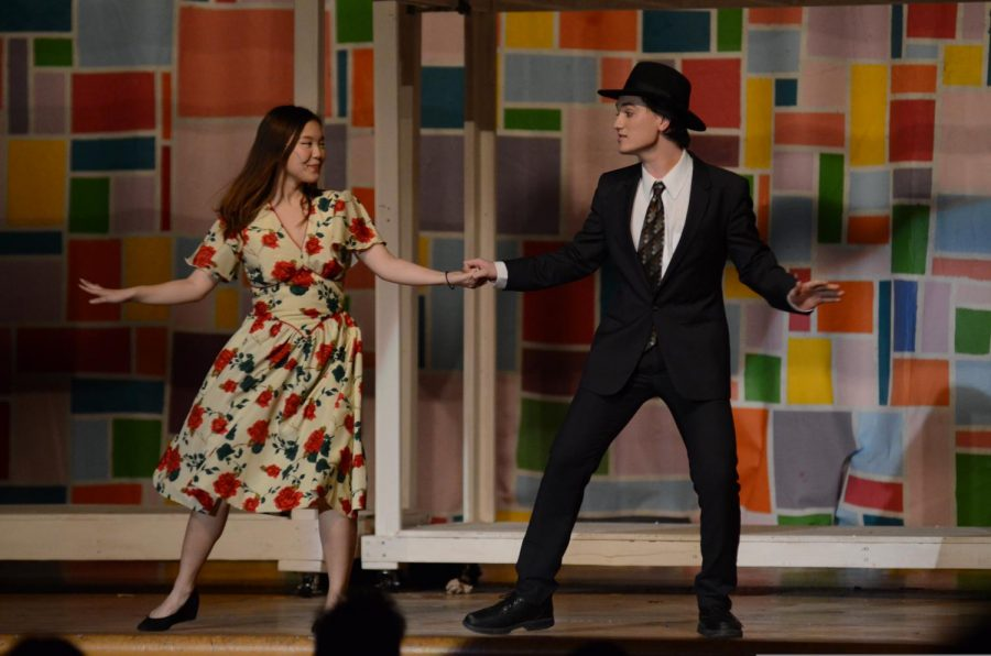 Jean Namung '20 and Owen Tumer '20 costarred in the fall production of Bye Bye Birdie.