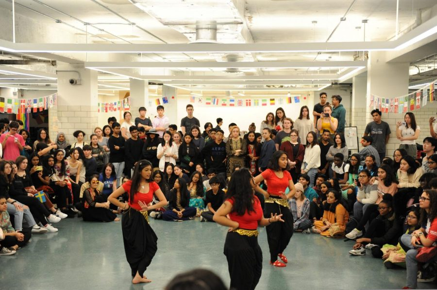 Maury Ahram The Bronx Science community watches performances during Cultural Day.