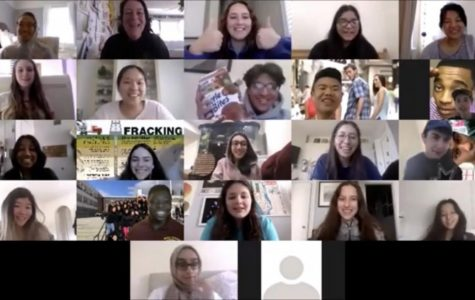 S.O Cabinet's new meetings consist of Video Chats to share any wonderful ideas that they have.