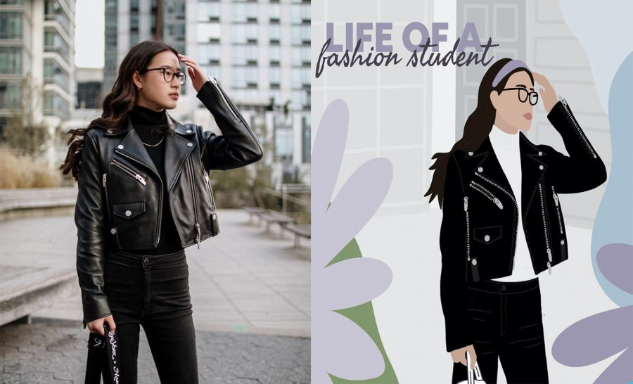 Kristina Ang '18 has turned her podcast 'The Life of a Fashion Student' into a platform through which she can engage with her audience on a personal level.