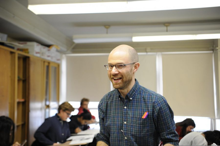 Mr. Mulick is one of the chemistry teachers and is often praised by his students.