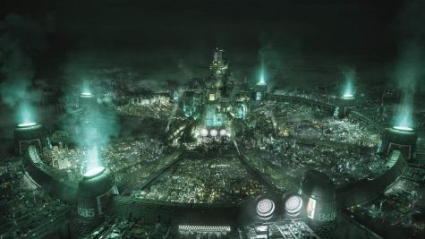 The sprawling industrial city of Midgar has been fleshed out in FF7R's extensive new map.