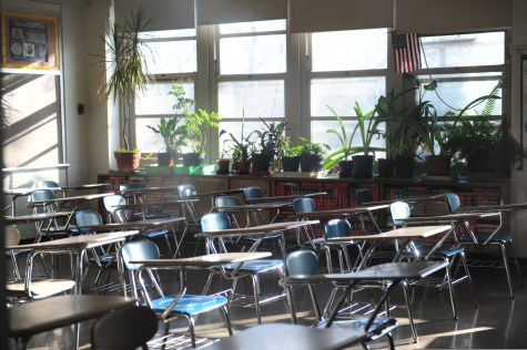 Schools remain empty as Mayor Bill de Blasio has closed schools for the rest of the 2019-2020 academic year due to the coronavirus pandemic.