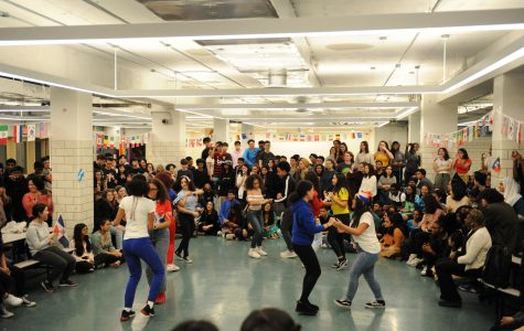 Cultural Day takes place in the work-in-progress cafeteria.