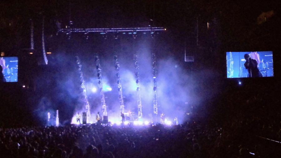 The Strokes performed on New Years Eve, December 31, 2019, at the Barclays Center.