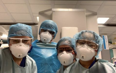 Karen Espiritu, a Registered Nurse at the University Hospital of Lewisham, and her co-workers must gear up before coming in contact with their patients.