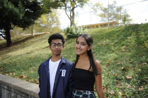 Tasnimul Rafid '21 Lola Murti '21 are the Wolverine TV anchors for the 2019-2020 academic year. While the two cannot wear their classic matching outfits to film at school, Murti still enjoys producing content at home because she is able to learn more about students' and teachers' lives outside of school.