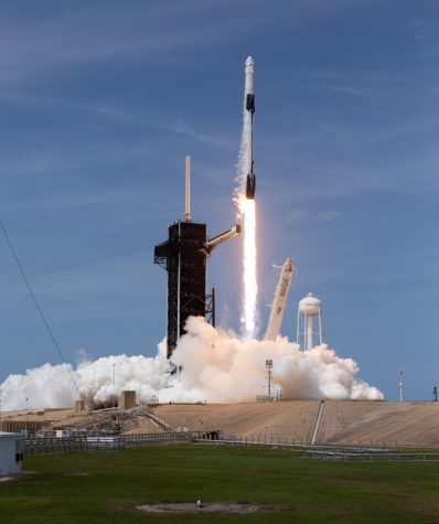 For the first time in nine years, American astronauts have returned to space on an American-built Rocket.