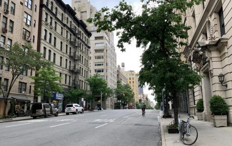 Madison Avenue, once the commercial hub of the area, is currently free of traffic.
