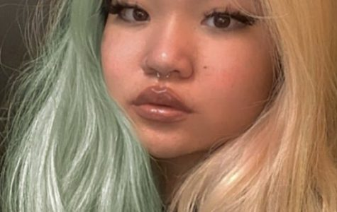 """Many of the hair trends inspired by the quarantine have been done on a whim and have become quite popular. Jessie You '23 said, """"it was originally a highlight at the front strands, and then I got impulsive and bleached the whole thing."""""""