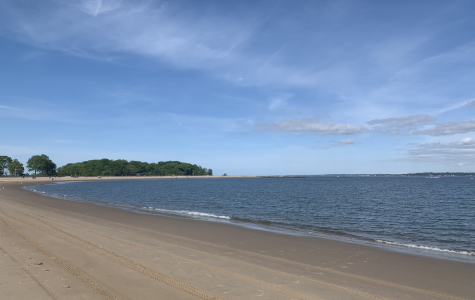 Orchard beach is usually filled with thousands of New Yorkers on Memorial day weekend. This year, it is nearly empty.